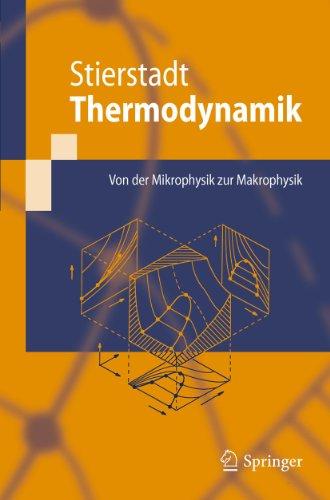 Thermodynamik: Von der Mikrophysik zur Makrophysik (Springer-Lehrbuch)