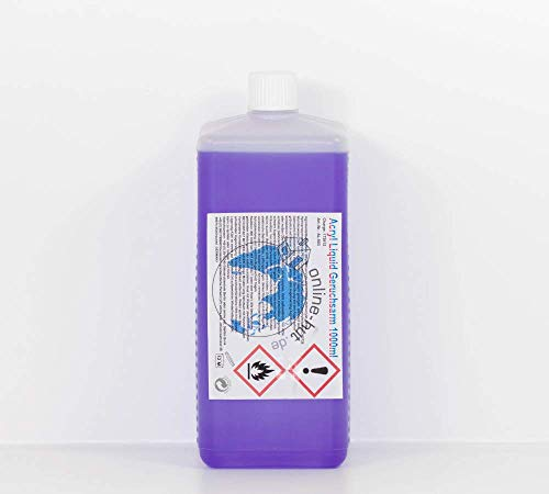 online-hut 1000 ml Acryl Flüssigkeit, Liquid, lufthärtend 1000ml
