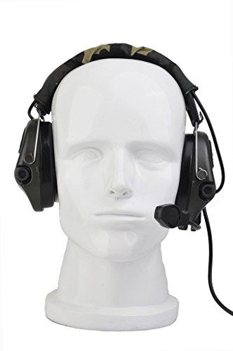 Tactical Sordin Headset-Abdeckung mit Militär-Standard-Stecker, FG, Einheitsgröße