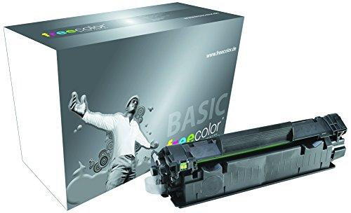 Freecolor Basic Toner voor P 1505 Premium, 2000 pagina's, geschikt voor HP CB436A, zwart