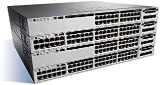 Cisco WS-C3850-48T-E Catalyst 3850 48 Port Data IP Networking Device
