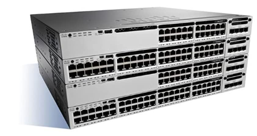 船尾学校立ち寄るCisco Catalyst WS-C3850-48T-E - switch - 48 ports