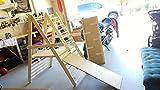 Ugi-Bugi Gimnasio para niños pequeños, Triángulo escalonado, Escalera de escalada para niños pequeños, Triángulo de escalada para niños pequeños, Gimnasio para niños pequeños