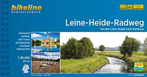 Leine-Heide-Radweg: Von der Leine-Quelle nach Hamburg, 407 km, 1:50.000, wetterfest/reißfest, GPS-Tracks Download, LiveUpdate (Bikeline Radtourenbücher)
