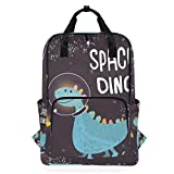 Studenten-Rucksack Dinosaurier-Anzug Flying In Space Schultertasche Elementary Schule Bookbag für...