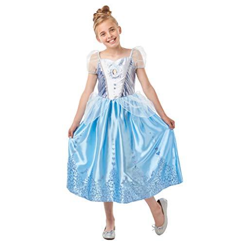 Rubie's 640718S Official Disney Princess Cinderella Gem Costume, Girls, Small 3-4 Years, Height 104 cm