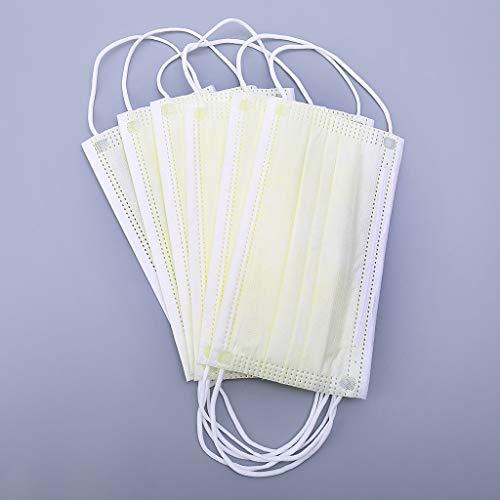 Vxhohdoxs Einweg-Windeln, Vlies, Staubfilter, hochwertig, Anti-Staub, Anti-Verschmutzung, 3-lagig, 10 Stück