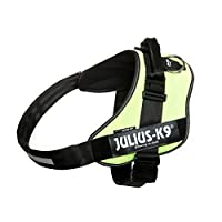 Chest circumference: 96-138 cm, Weight of the dog: 70-90 kg Sturdy and easy-to-use harness from premium quality materials, made in Europe Interchangeable hook & loop patches – your dog may wear the patches of your choice Reflective edges and chest st...
