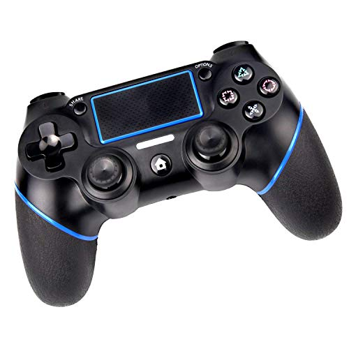 PS4 Controller Wireless Controller for Playstation 4 with Dual Viration and 3.5mm Jack, Touch Panel,Anti-Slip Grip