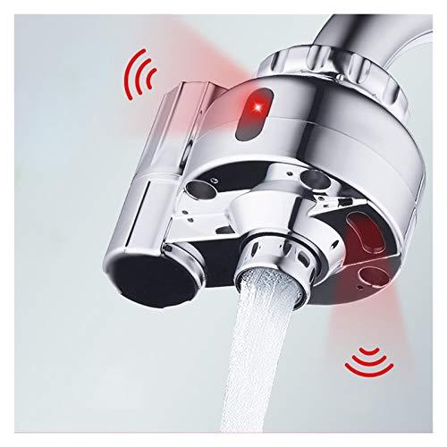 Grifos con Sensor Automático Mezclador Grifo de,Sensor de Ahorro Inteligente sin Contacto automático Grifo Sensor infrarrojo Adaptador para Cocina,baño