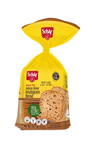 Schar: Gluten Free Artisan Baker Multigrain Bread 14.1 Oz (6 Pack)