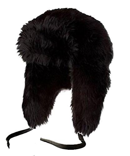 Flagstaff Flagstaff Unisex Luxus-Pelz-russischen Stil Trappermütze Fellmütze