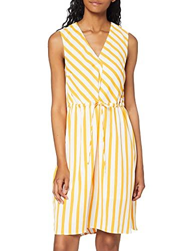 SELECTED FEMME Slfdorit Tunni 2/4 AOP Short Dress B Vestido, Multicolor (Radiant...