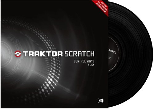 Traktor Scratch ctrl Vinyl BKL MK1 Black (Old Version)