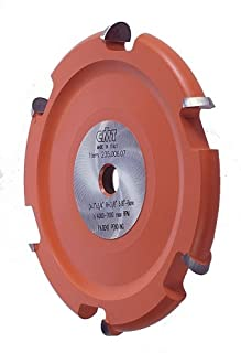 CMT 235.006.07 Cove Cutter Head For 800.523.11 Crown Molding Set, 5/8-Inch Bore For Table Saws