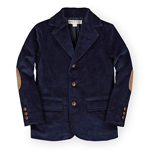 Hope & Henry Boys' Corduroy Blazer Navy