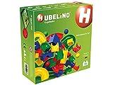 Hubelino-55-teiliges Bahnelemente Set Circuito de Bolas, Multicolor (420473)