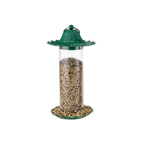 Vogelvoerdispenser, outdoor-metalen dak perfect tuindecoratie vogelhuisje huisdier waterkoker #3