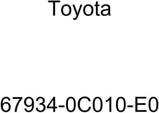 TOYOTA Max 49% OFF 67934-0C010-E0 Door Scuff Plate Max 82% OFF