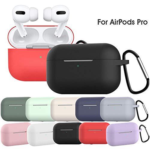 para AirPods Pro Funda Coque Earpods para Airpod Pro Funda para Apple Air Pods Pro Earbud Caja de Carga Funda Etui-Verde