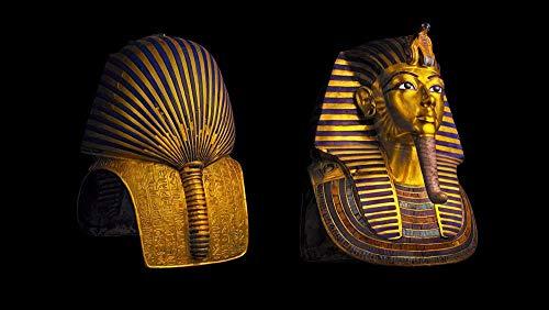 Rompecabezas para adultos 1000 piezas El patrón de máscara de Faraón de Tutankamón se puede usar como un regalo para los niños S juego de cerebro para niños (75 X 50Cm)