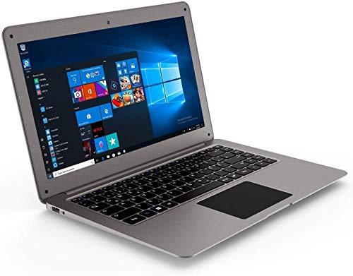 """Winnovo 14 Zoll Laptop, 14.1\"""" Notebook Intel Atom Quad Core, Full HD IPS Display, 4GB RAM, 64GB Festplatte, WLAN, Bluetooth, USB 3.0, HDMI, Akku 10000mAh, Windows 10, QWERTZ Tastatur"""