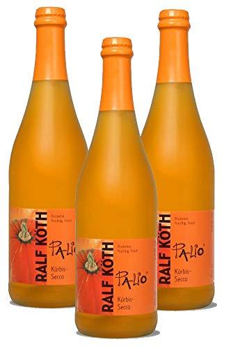 Palio - Kürbis Secco 3x 0,75l - Fruchtiger Kürbis Perlwein - Prämiert aus Deutschland