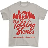 Bravado The Rolling Stones Mick June 1975 T-Shirt - Beige (Large)