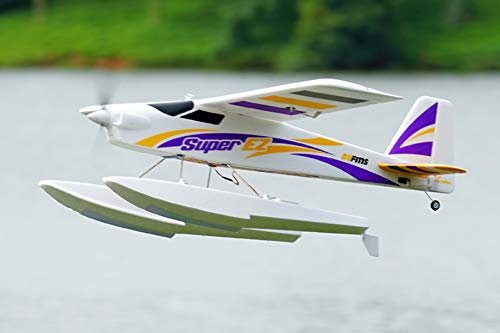 FMS Super EZ Trainer V4 1220mm Wingspan with Floats 4CH RC Airplane Water Sea Plane PNP (No Radio, Battery, Charger)