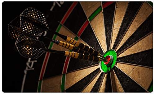 Fotografie Dart Scheibe Pfeile Bullseye Wandtattoo Wandsticker Wandaufkleber R1916 Größe 40 cm x 60 cm