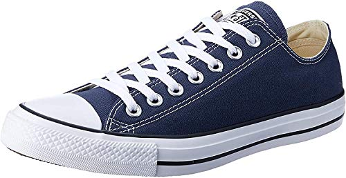 Converse Unisex-Erwachsene Chuck Taylor All Star-Ox Low-Top Sneakers, Blau (Navy), 45 EU
