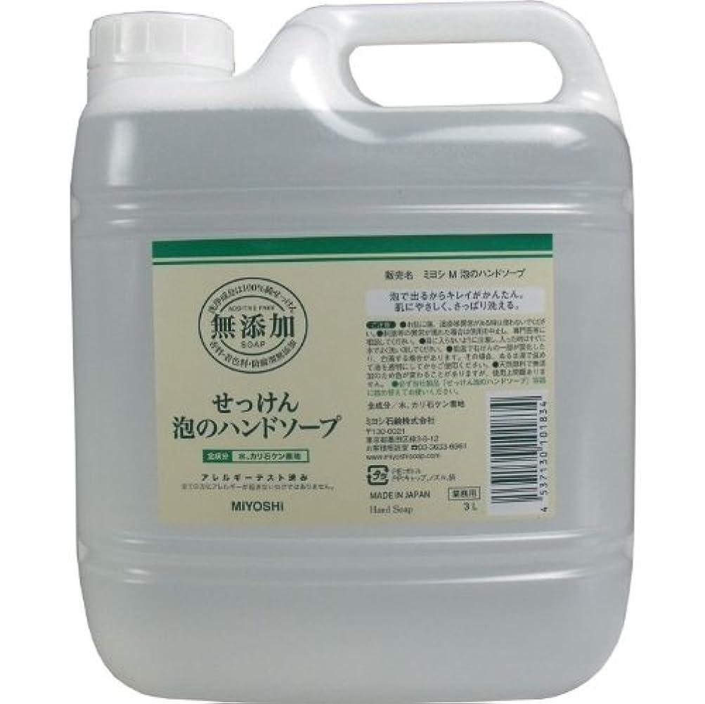 単位平手打ち引く泡で出るからキレイが簡単!家事の間のサッと洗いも簡単!香料、着色料、防腐剤無添加!(業務用)3L【4個セット】