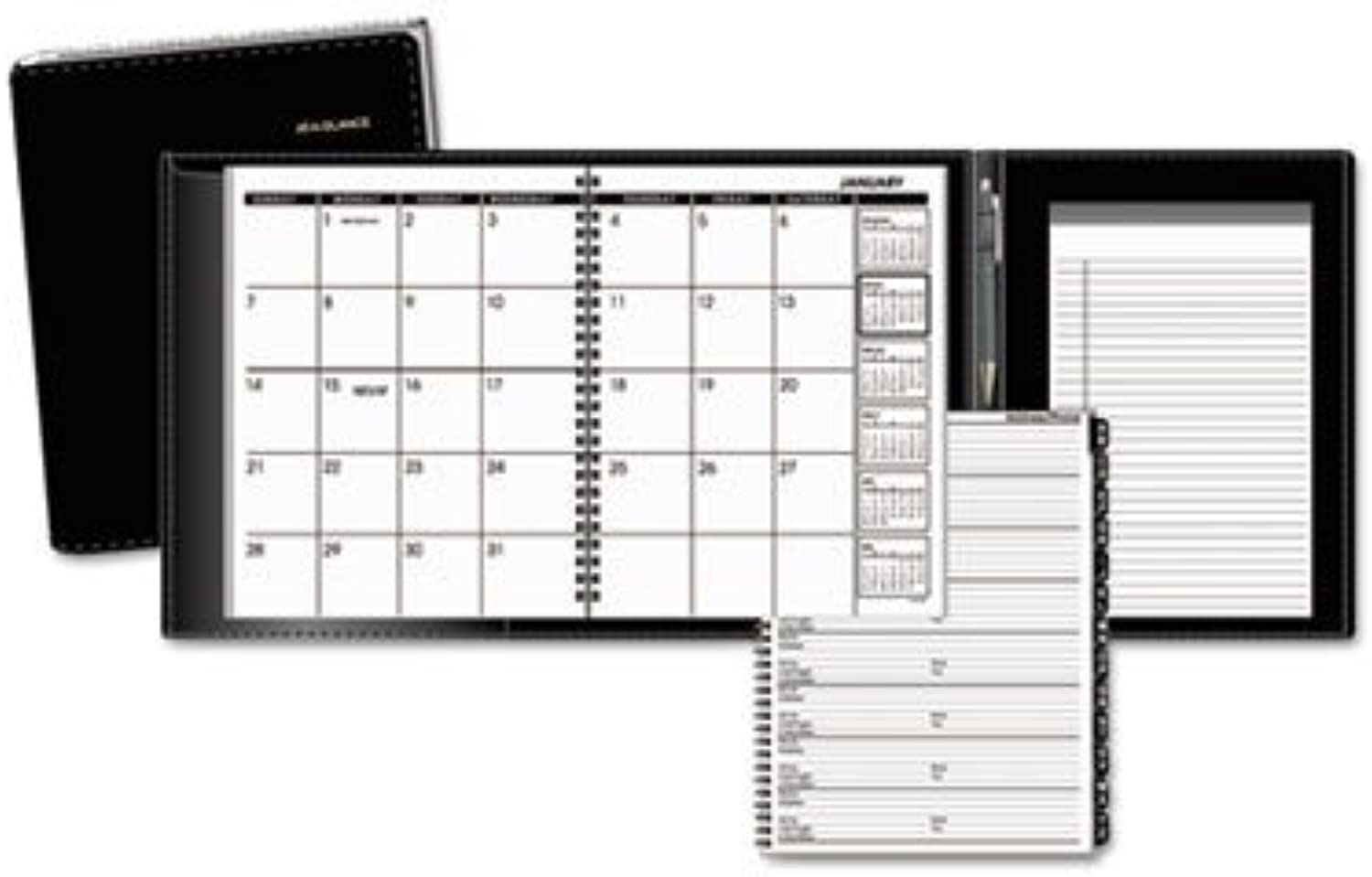 New-AT-A-GLANCE 70120P05 - Plus Monthly Planner, schwarz, 6 7 8 x 8 3 4 - AAG70120P05 by At-A-Glance B0141N36E8 | Hochwertig