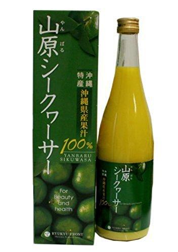 琉球フロント 山原(やんばる)シークヮーサー 沖縄県産 果汁100% 720ml ×4本セット