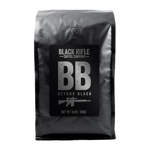 5 Pound Bag of Black Rifle Ground Coffee (Beyond Black)