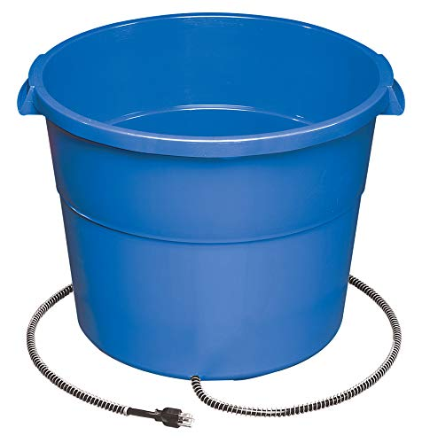 API Heated Bucket Heated Round Bucket, 16 Gallon (Item No. 16HB)
