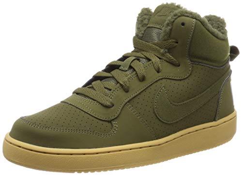 Nike Herren Court Borough MID WNTR GS Fitnessschuhe, Mehrfarbig (Olive Canvas/Olive Canvas 300), 38.5 EU