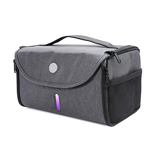 LED UV Sanitizer Bag, Portable LED Sterilizer Box, UVC Light Cleaner, 265nm UV Sterilizer for Cell Phone, Baby Bottle/Underwear/Toothbrush/Beauty Tools/Jewelry