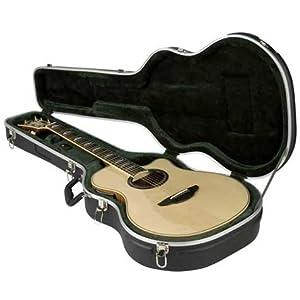 SKB 1SKB-3 Thin-Line akustisch-elektrische/klassische Gitarre