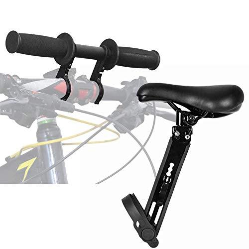 hook.s Frontmontierter Kinderfahrradsitz mit Lenkerbefestigung | Vorne montierte Fahrradsitze für Kinder von 2-5 Jahren (bis zu 48 Pfund) | Kompatibel mit All Adult MTB