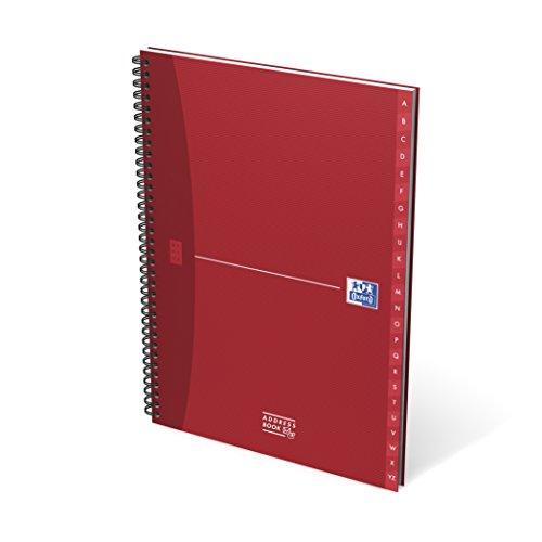 Oxford Essentials Spiralbuch A4 144 Seiten Adressen (1 Stück sortiert)