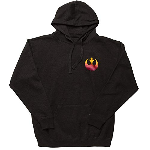Tatooine Sunset Star Wars Hoodie Charcoal (X-Large)