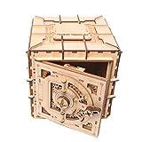 Daxoon 3D Rompecabezas de Madera DIY Treasure Box Modelo mecánico Creativo Caja de Almacenamiento de Joyas para Juguetes de Regalo de San Valentín