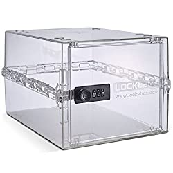 LOCKABOX - Compact and hygienic the Lockabox One is a unique lockable storage box combining security with everyday use. The lockable nature of our locked storage box, provided by the three digit combination lock, creates peace of mind and allows you ...