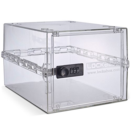 Lockabox One, Compact and Hygienic Lockable Box for Food, Medicines and Home Safety