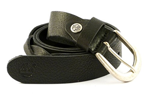 Cintura donna in pelle Timberland M4372 (nero)