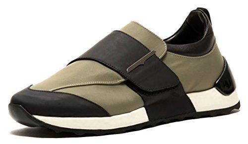 Alberto Guardiani Su75491c, Herren Sneaker, Grün - Verde Militare-Nero - Größe: 44