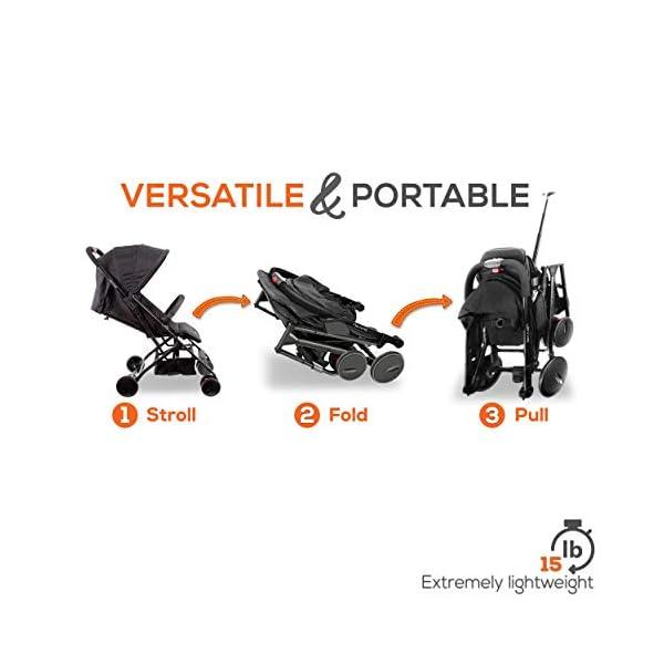 Best Lightweight Baby Stroller Portable Folding Smallest Baby Stroller