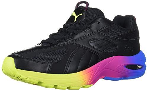 PUMA Cell Speed Sneaker, Black-Indigo Bunting-Fuchsia Purple, 10.5 M US
