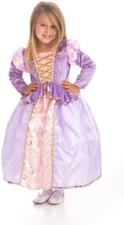 Classic Rapunzel Princess Dress Up Costume Small-XL (Small (1-3 Years) Größe 2T) by Little Adventures B018MVDHAS Neuartiges Design  | Modisch